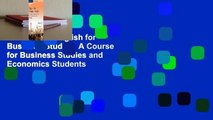 Full version English for Business Studies: A Course for Business Studies and Economics Students