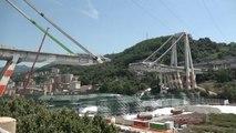 شاهد: وضع حجر أساس جسر جديد سيعوض جسر جنوة موراندي في إيطاليا