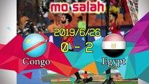 Highlights | Egypt 2-0  DR Congo & Goals - Mo Salah CAN 2019