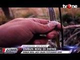 Ratusan Wisatawan Berburu Embun Es Dieng