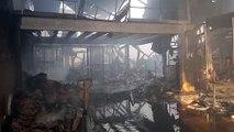 Violent incendie ce jeudi 27 juin dans un entrepôt de Saint-Priest