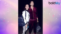 Erica Fernandes & Parth Samthaan leave for Switzerland from Mumbai airport | Boldsky