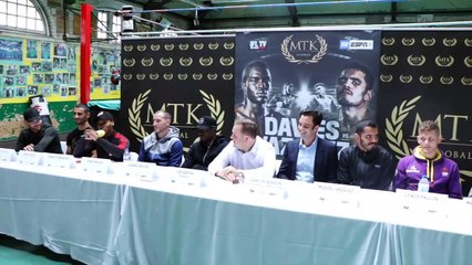 'SHUT UP YOU MUG' -PRESS CONFERENCE ERUPTS INTO CHAOS - AS DANNY 'DARKO' & BILLY RUMBOL GET INTO ROW