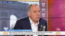 """Didier Guillaume: """"Si nous arrêtions tous les pesticides aujourd'hui, ce serait une catastrophe pour l'agriculture"""""""