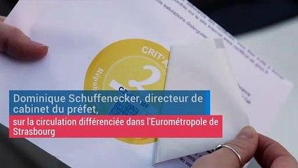 Des contrôles à l'Eurométropole de Strasbourg sur les vignettes Critair