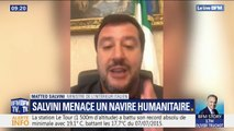 Matteo Salvini menace un navire humanitaire avec 42 migrants à bord