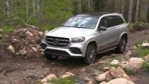 Mercedes-Benz GLS 580 4MATIC in Irridium silver Driving Video