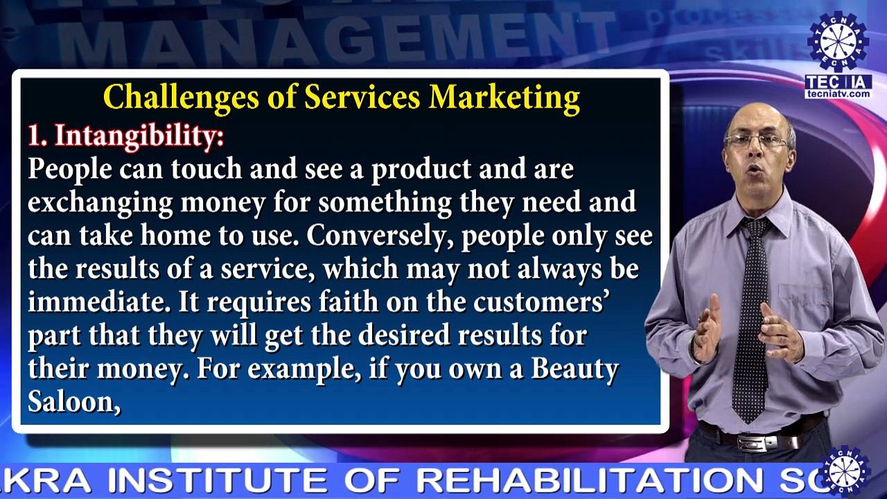 Dr. ARUN BHATIA || Challenges of Services Marketing  || MBA || TIAS || TECNIA TV