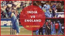 ICC Cricket World Cup Flashback - India vs England