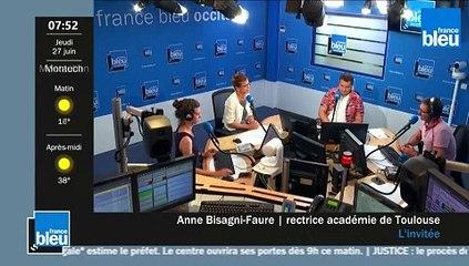 Anne Bisagni Faure, rectrice de Toulouse