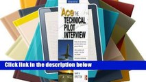 [MOST WISHED]  Ace the Technical Pilot Interview