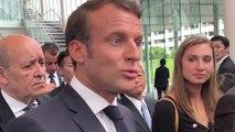"""Changement climatique : Emmanuel Macron souhaite une """"adaptation de la société"""""""