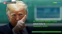 Donald Trump says India's tariff hike unacceptable, demands withdrawal