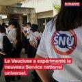 Le service national universel a été testé dans le Vaucluse