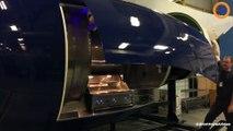 Il transforme ce réacteur d'avion en barbecue géant