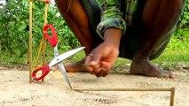 Facile d'Oiseaux de Piège Simple BRICOLAGE Créatif Oiseau Piège de faire de Cutter Que le Travail à 100% Par des Hommes