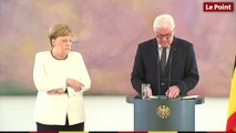 Angela Merkel victime d'une nouvelle crise de tremblements