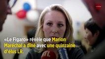 Marion Maréchal a dîné avec une quinzaine d'élus LR