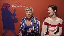Terelu Campos explica su papel en lo nuevo de Paquita Salas