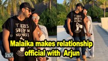 Malaika makes relationship official with 'amazing' Arjun
