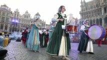 Parade de l'Ommegang à Bruxelles