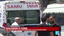 TUNISIE : Tunis a été visé par deux attentats suicides contre la police