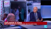 TUNISIE : Au moins 9 blessés dans les deux attentats suicides à Tunis