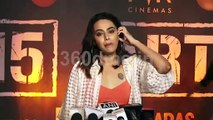 Swara Bhaskar : I am glad that commercial mainstream bollywood making movie on serious subject