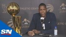 Toronto Raptors President Masai Ujiri's End Of Season Address - FULL Press Conference
