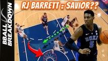 Is RJ Barrett The Savior The KNICKS Need?