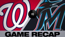 Adams, Corbin power Nats past Marlins - Nationals-Marlins Game Highlights 6/26/19