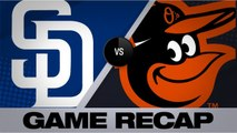 Padres use 5 home runs to down the O's, 10-5 - Padres-Orioles Game Highlights 6/26/19