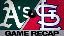 A's shut out Cardinals in St. Louis - Athletics-Cardinals Game Highlights 6/26/19