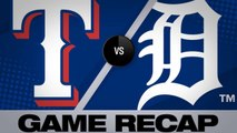 Homers, Minor's CG power Rangers' 4-1 win - Rangers-Tigers Game Highlights 6/26/19