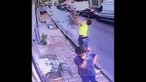 Ce jeune homme sauve in extremis une petite fille tombée du 2e étage de son immeuble à Istanbul