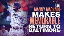 Manny Machado's memorable return to Baltimore