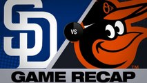 Machado, Margot power Padres to an 8-3 win - Padres-Orioles Game Highlights 6/25/19