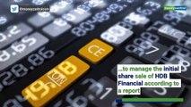 HDFC Bank plans to list NBFC arm, raise $1 bn