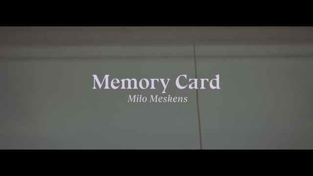 Milo Meskens - Memory Card