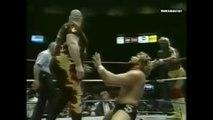 Hulk Hogan & Bam Bam Bigelow vs Ted DiBiase & Virgil (MSG 01.25.88)