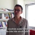 Hervé Gardette remercie les auditeurs et auditrices