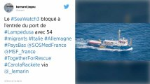 Migrants : Après avoir forcé le blocus italien, le Sea-Watch toujours à l'arrêt face à Lampedusa