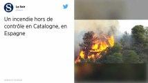 Espagne : Un incendie hors de contrôle progresse au nord du pays