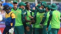 World Cup 2019 SL vs SA: Dwaine Pretorius, Chris Morris restrict Sri Lanka to 203 | वनइंडिया हिंदी
