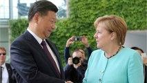 At G20 German Chancellor Angela Merkel Hopes For The Calming Of The U.S. And China's Trade War