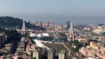 Genova - La demolizione del ponte Morandi 3 (28.06.19)