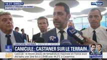 """Canicule: Christophe Castaner rappelle que """"l'ensemble des publics peuvent être concernés"""""""
