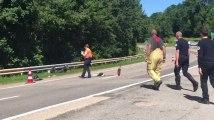 Accident à Masta