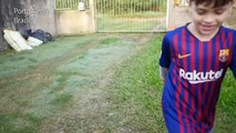 Brazil's Lionel Messi: a six-year-old dreams of meeting his hero