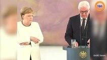 Angela Merkel une nouvelle fois victime de tremblements incontrôlables